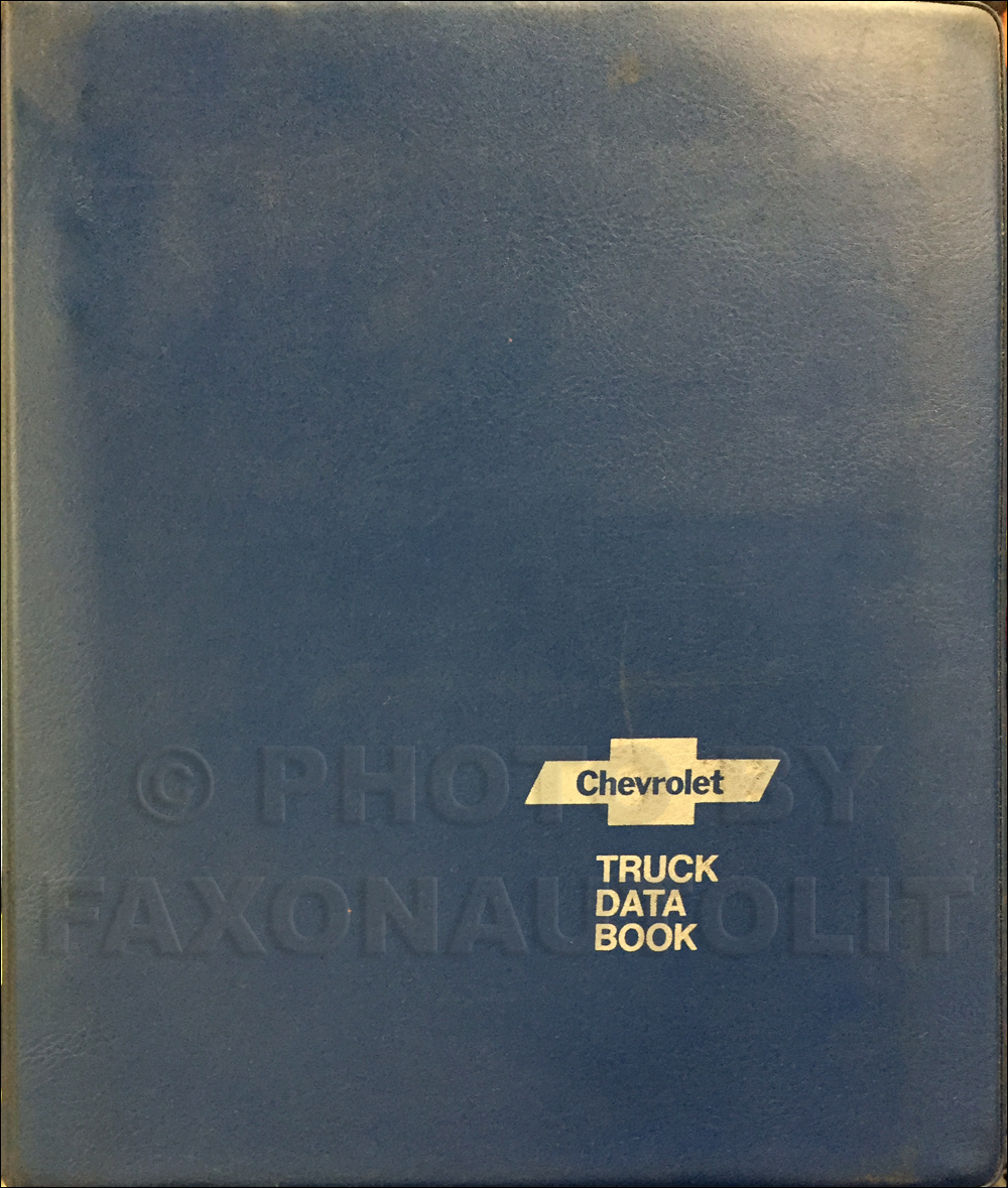1977 Chevrolet Truck Data Book Dealer Album Original Light, Medium, and Heavy Trucks