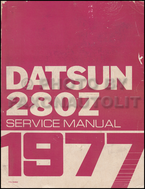 1978 Datsun 280Z  Repair Manual