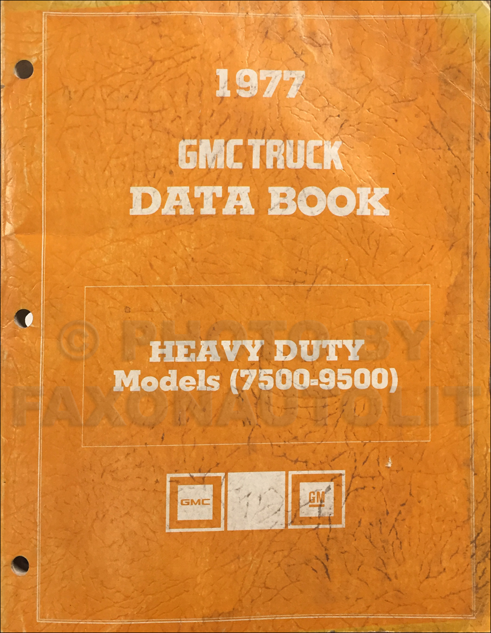1977 GMC Heavy Duty Data Book Original