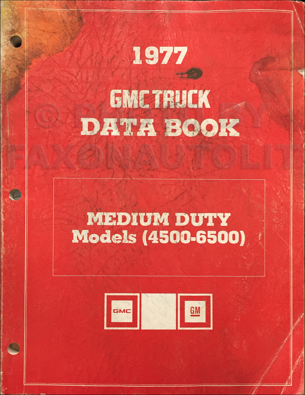 1977 Chevrolet And Gmc Medium Duty C50 C60 C65 Wiring Diagram Original C5000 C6000