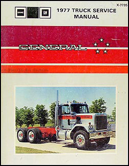 1977 GMC General Shop Manual Original 9005-9502, M, N