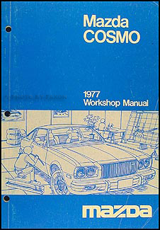 1977 Mazda Cosmo Repair Manual Original