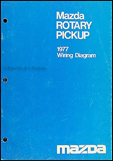 1977 Mazda Rotary Pickup Wiring Diagram Original