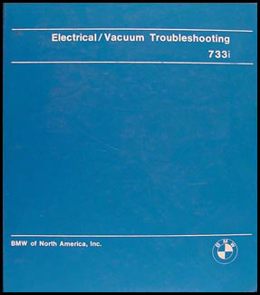 1979-1981 BMW 733i Electrical Troubleshooting Manual