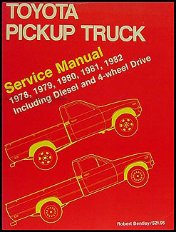 1978-1982 toyota pickup truck bentley repair manual diesel