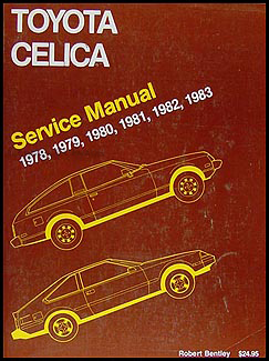 1978-1983 Toyota Celica Bentley Repair Manual