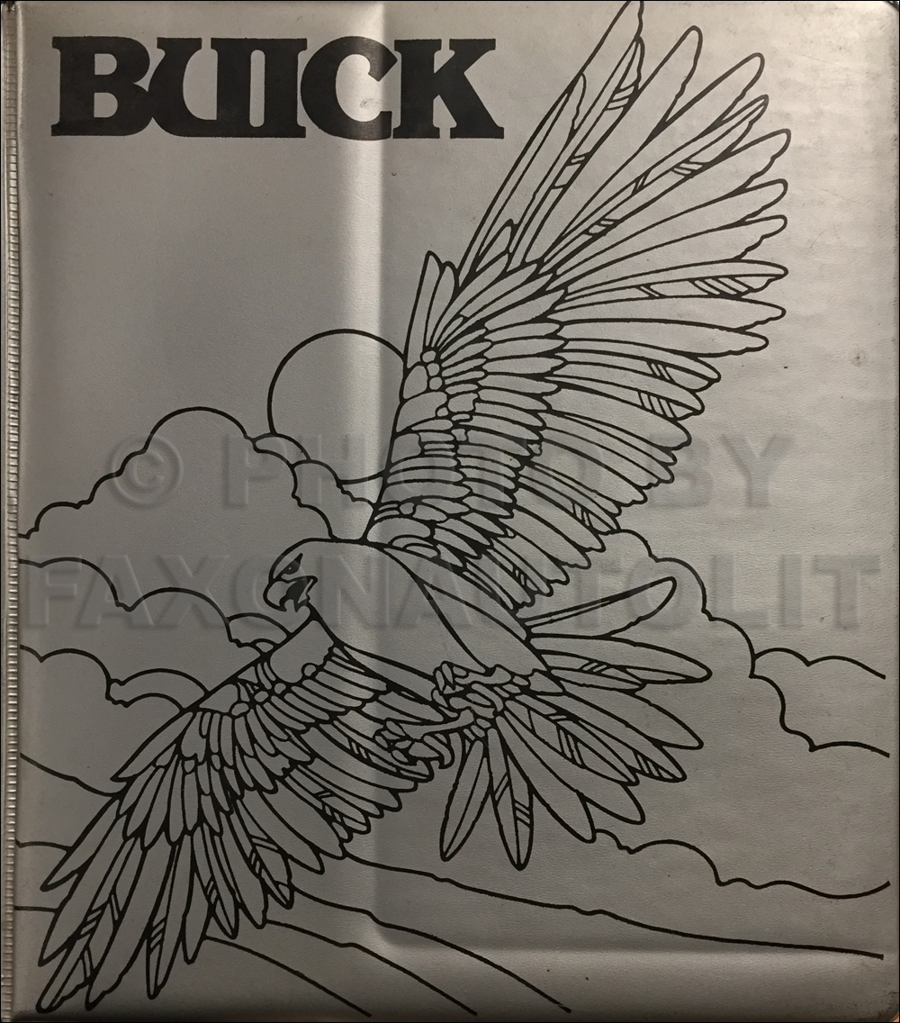1978 Buick Repair Shop Manual Original All Models 78 Regal Wiring Diagram Color Upholstery Dealer Album Data Book