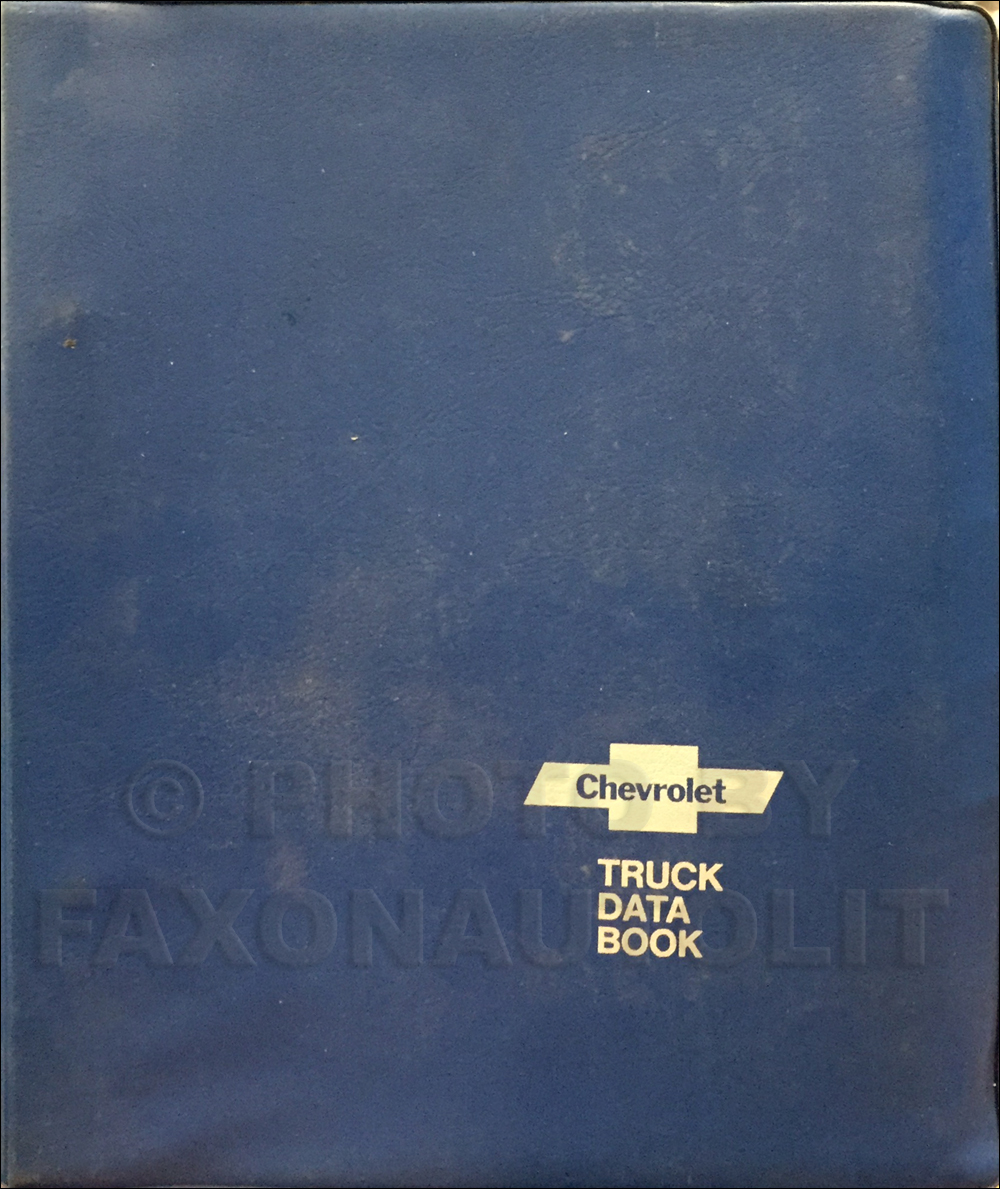 1978 Chevrolet Truck Data Book Dealer Album Original Light, Medium, and Heavy Trucks