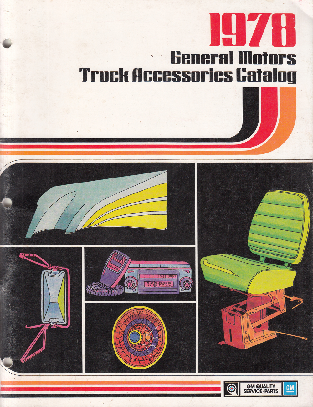 1978 Chevy Truck and GMC Accessories Dealer Album Original