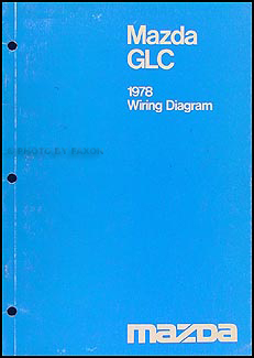 1978 Mazda GLC Repair Manual Original