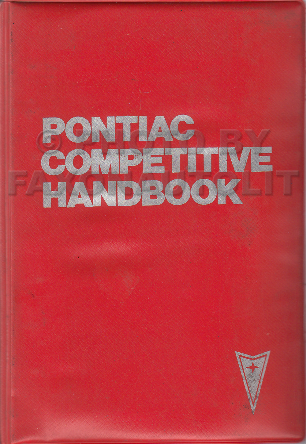 1978 Pontiac Competitive Comparison Guide Original Dealer Album