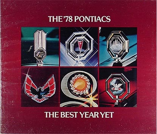 1978 Pontiac Sales Catalog Original--All Models
