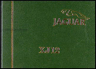 1980-1987 Jaguar XJ12 Owner's Manual Reprint