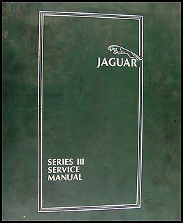 1979-1987 Jaguar XJ6 and XJ12 Repair Manual Original