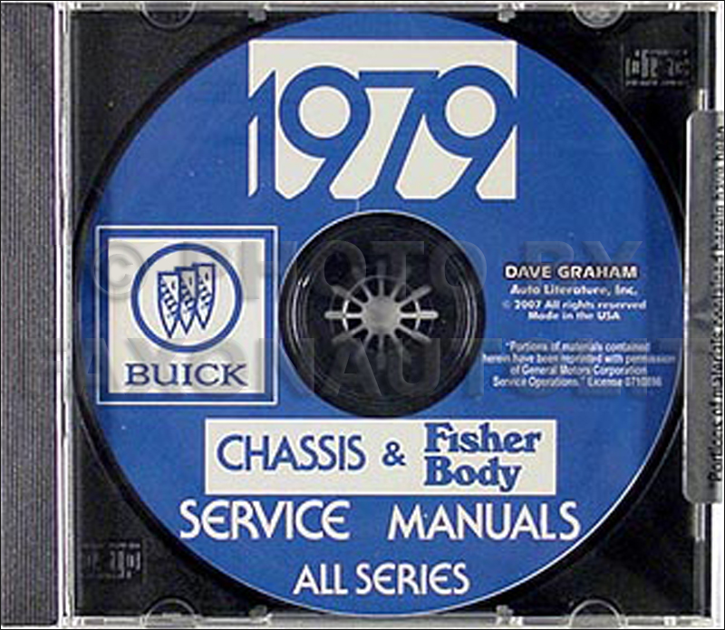 1979 Buick Shop Manual and Body Manual CD-ROM