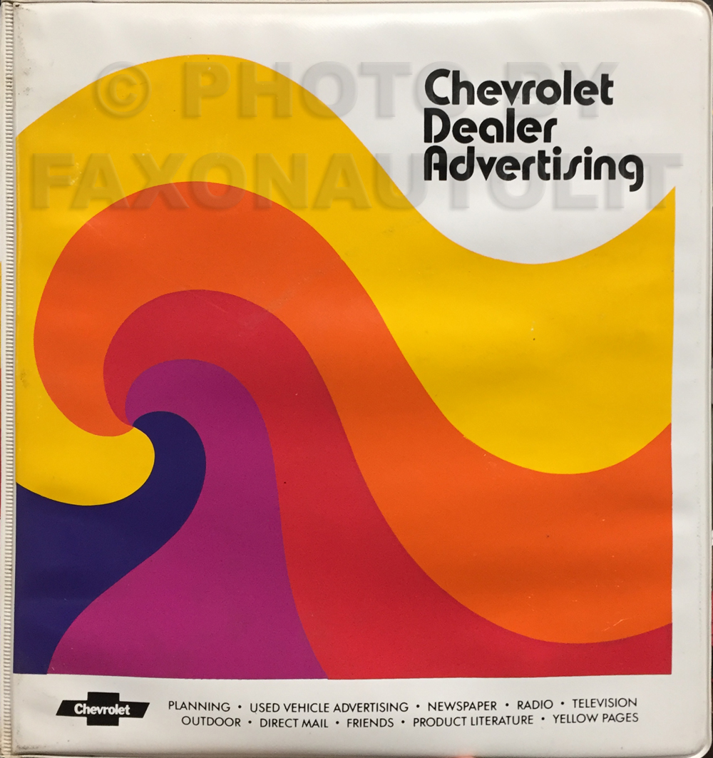 1979 Chevrolet Dealer Advertising Planner Original Album