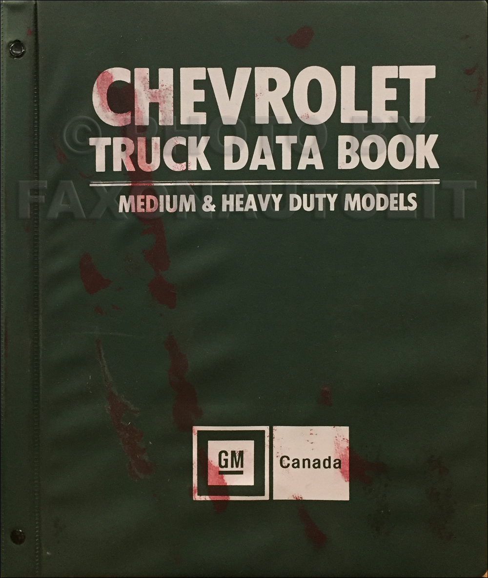1979 Chevrolet Medium and Heavy Duty Truck Data Book Original Canadian