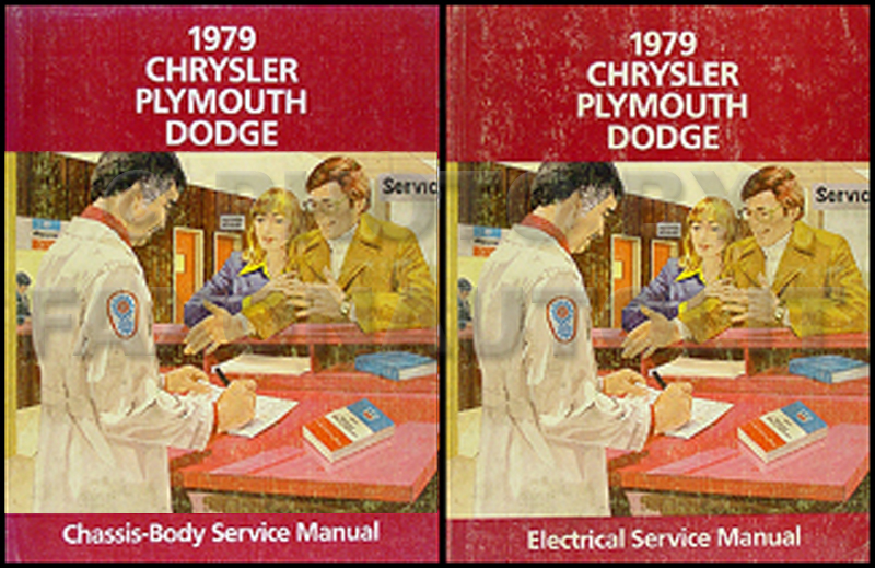 1979 MoPar Car Repair Manual 2 Vol Set