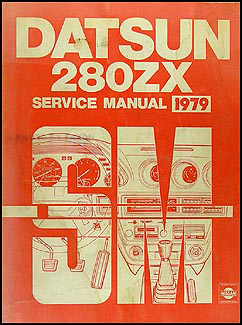1979 Datsun 280ZX  Repair Manual