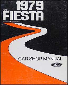 1979 Ford Fiesta Repair Manual Original