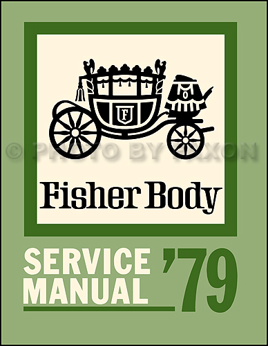 1979 Buick Body Shop Manual Reprint