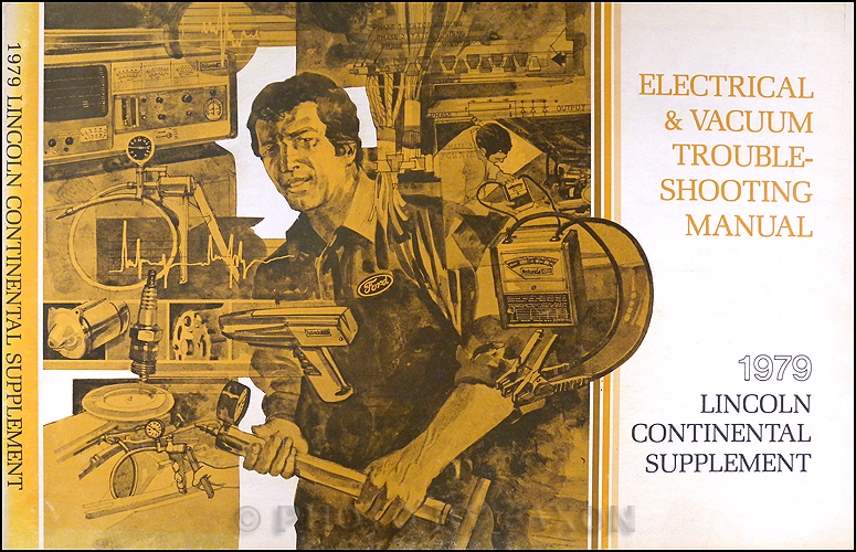 1979 Lincoln Continental Electrical Troubleshooting Manual Supplement