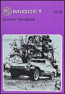1979 MG Midget Owner's Manual Reprint