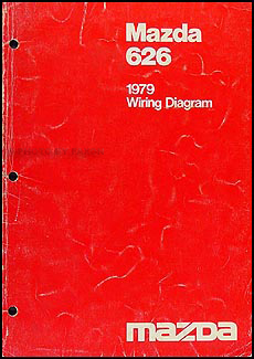 1979 Mazda 626 Wiring Diagram Original