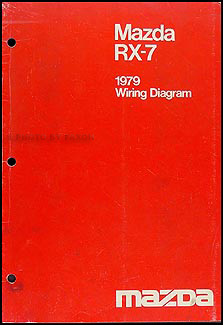 1979 Mazda RX-7 Original Wiring Diagram