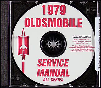 1979 Oldsmobile CD-ROM Shop Manual