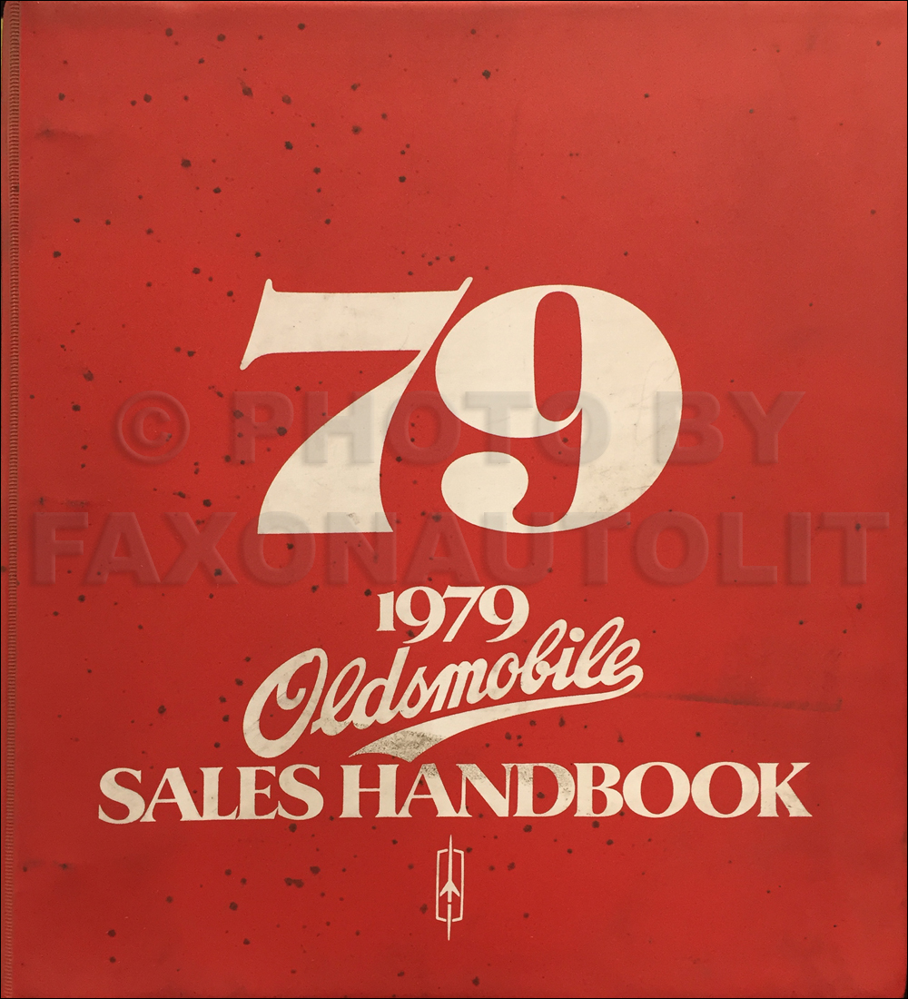 1979 Oldsmobile Color & Upholstery Dealer Album / Data Book Original CANADIAN
