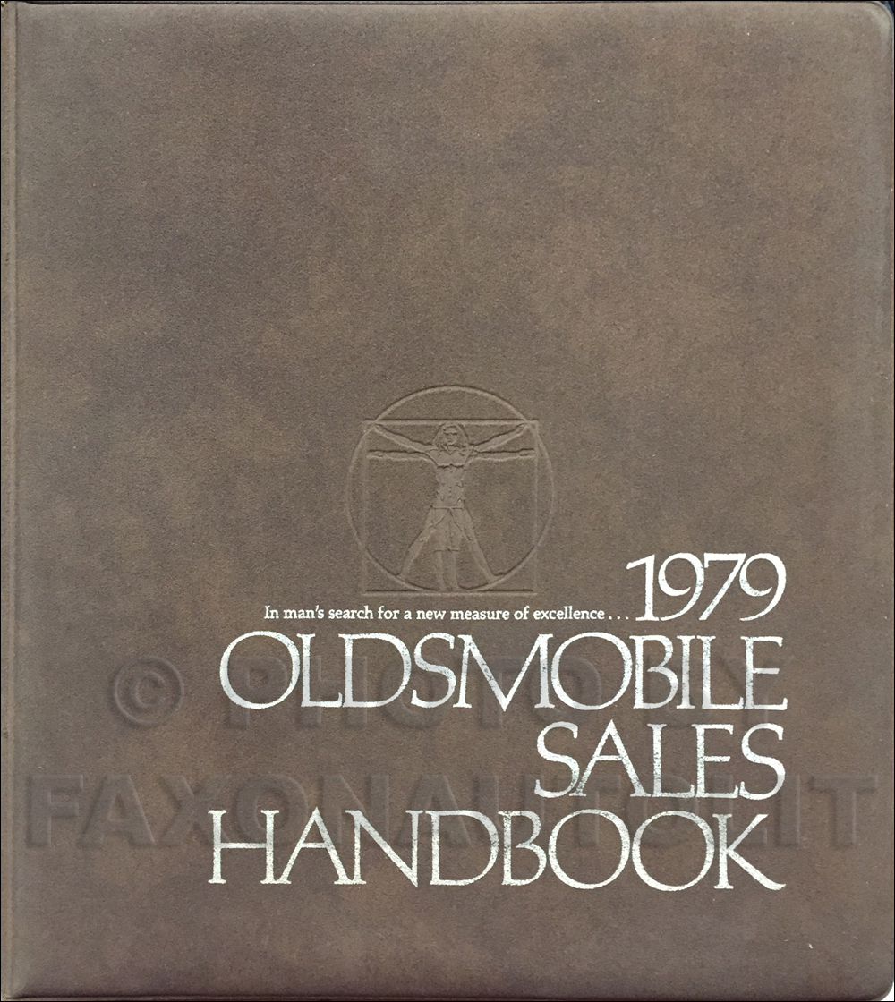 1979 Oldsmobile Color & Upholstery/Data Book Original