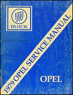1979 Opel Repair Manual Original