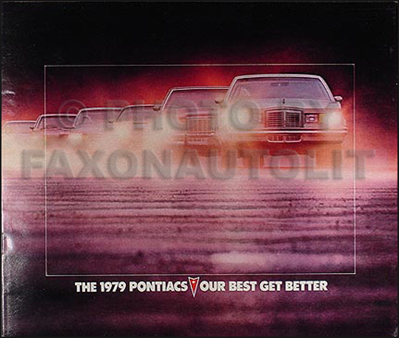 1979 Pontiac Sales Catalog Original--All Models