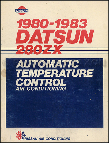 1976-1978 Datsun F10 Air Conditioning Shop Manual Original