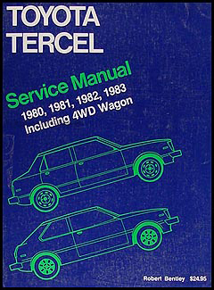1980-1983 Toyota Tercel Bentley Repair Manual