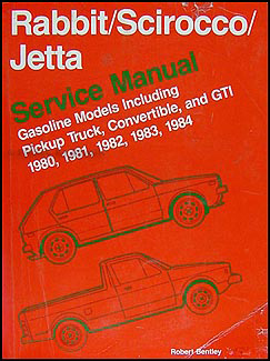 1980-1984 VW Rabbit, Scirocco, Jetta Repair Manual