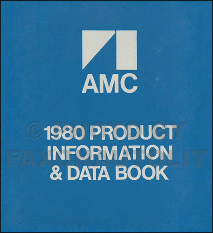1980 AMC Color & Upholstery Album and Data Book Original