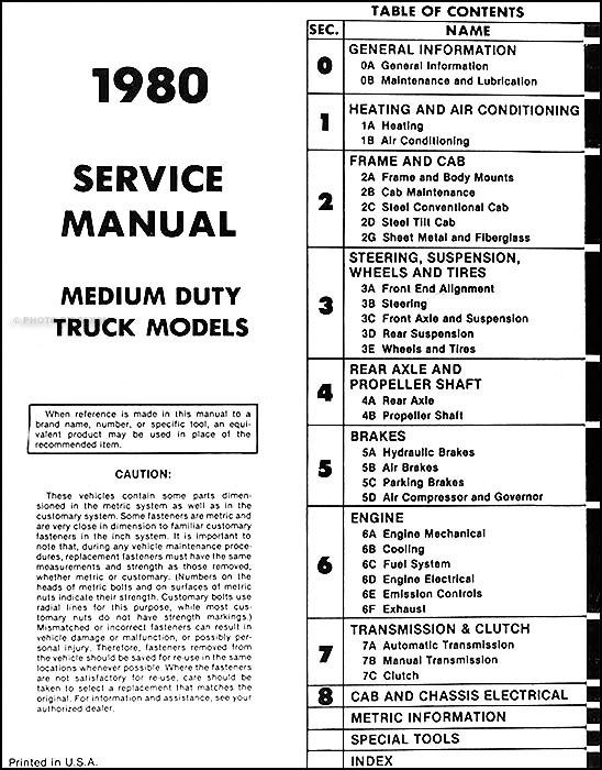 1980-1981 Chevrolet Medium and Heavy Truck Service Manual CD on 1980 chevy parts, 1980 chevy lights, 1980 chevy brake switch, 1980 chevy ignition, 1980 chevy clutch, 1980 chevy alternator wiring, hyster forklift diagram, 1980 chevy fuse box diagram, 1980 chevy air conditioning, 1980 chevy regulator, 1980 chevy firing order, 1980 chevy truck manual, 1980 chevy lighting diagram, 1980 chevy truck wiring, 1980 chevy belt diagrams, 1980 chevy steering, 1980 chevy body, 1980 chevy ford, 2002 corvette electrical diagram, 1980 chevy starter,