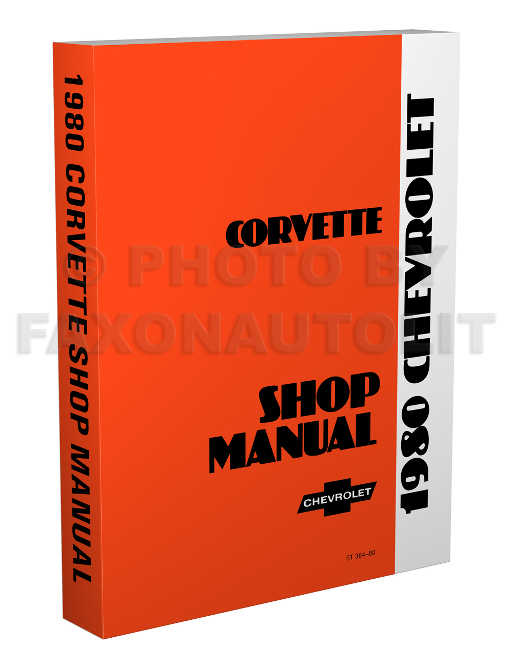 1980 Corvette Shop Manual Original