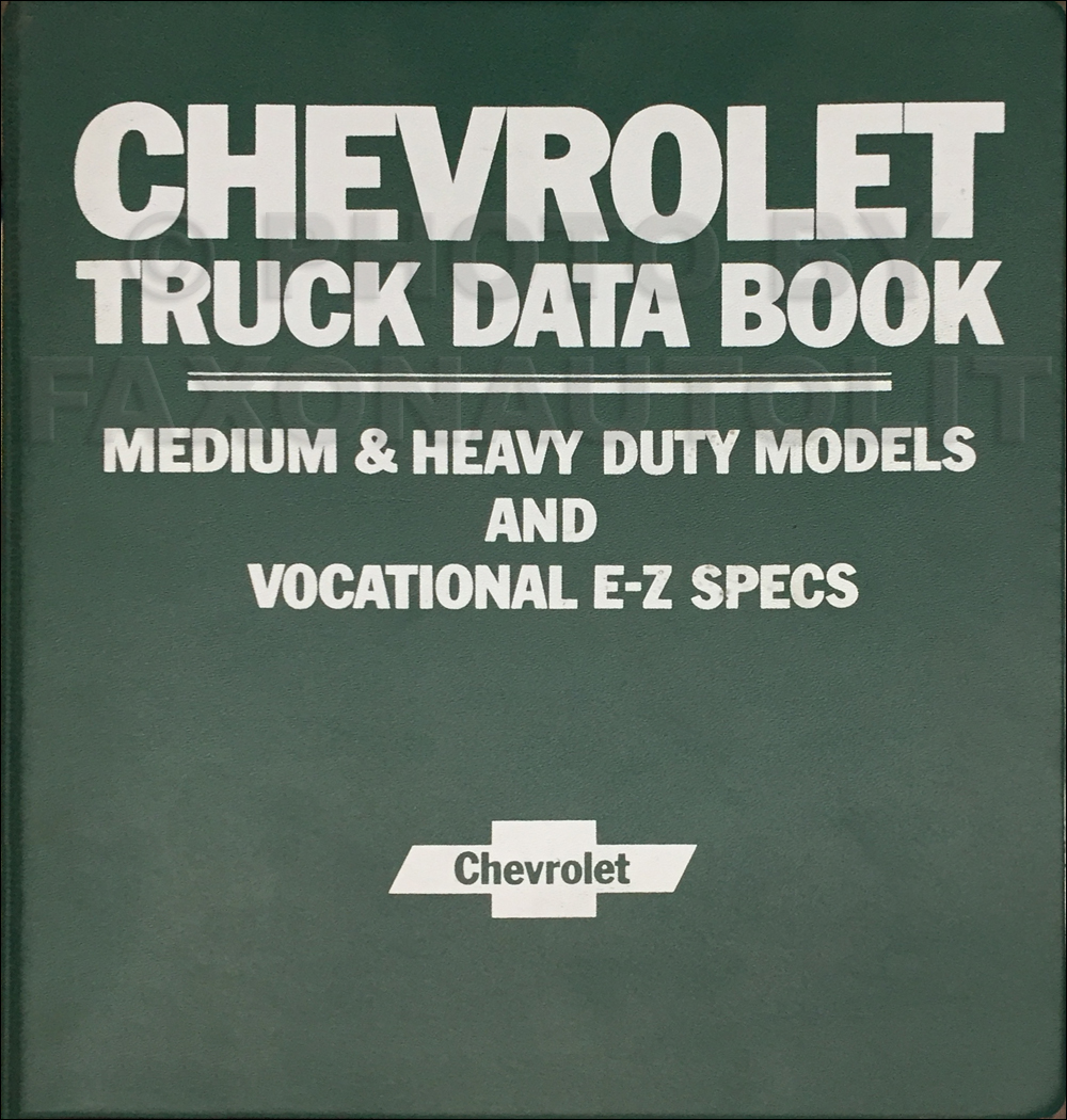 1980 Chevrolet Medium & Heavy Duty Truck Data Book Original