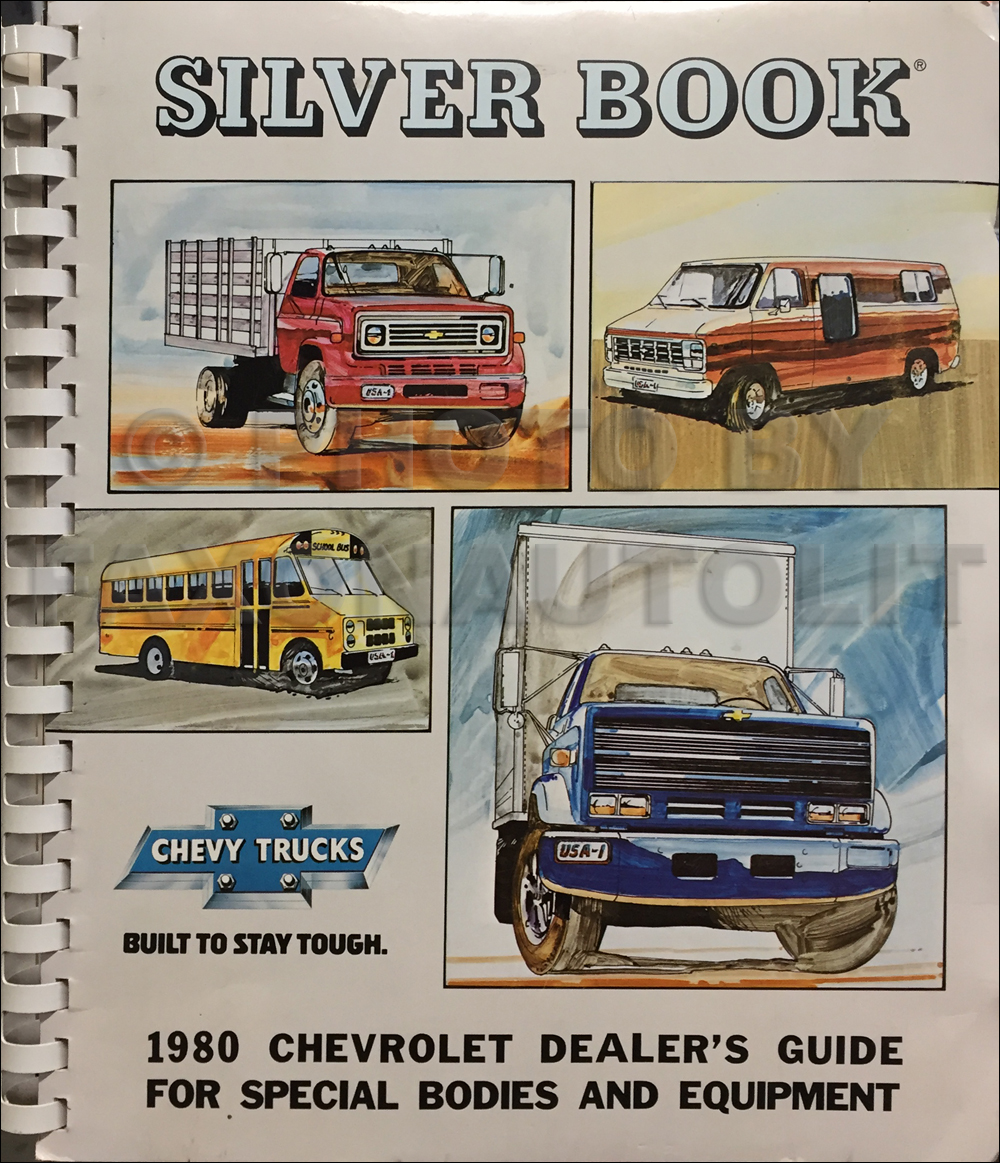 1980 Chevrolet Truck Silver Book Special Equipment Dealer Album