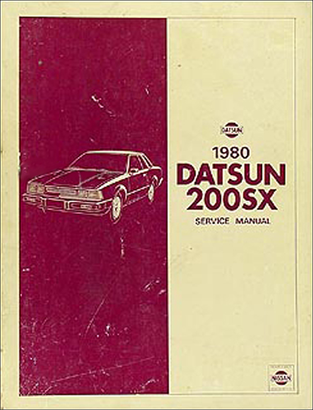 1980 Datsun 200SX Repair Manual Original