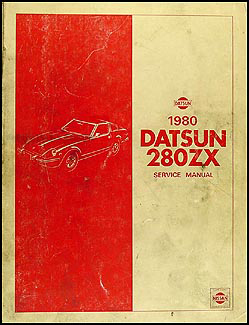 1980 Datsun 280ZX  Repair Manual Original