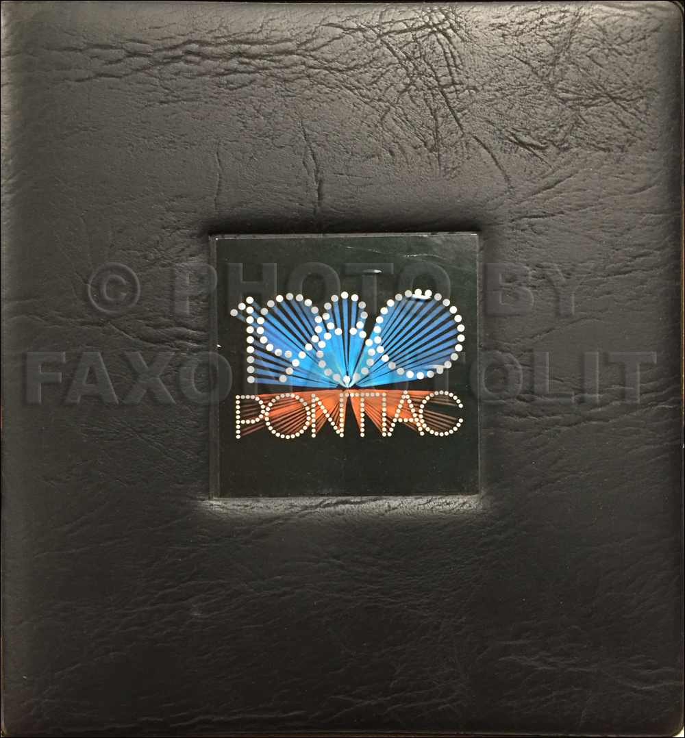1980 Pontiac Merchandising Planner Dealer Album Original