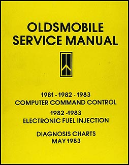 1981-1983 Olds Computer Control and Electronic Fuel Injection Diagnosis Charts