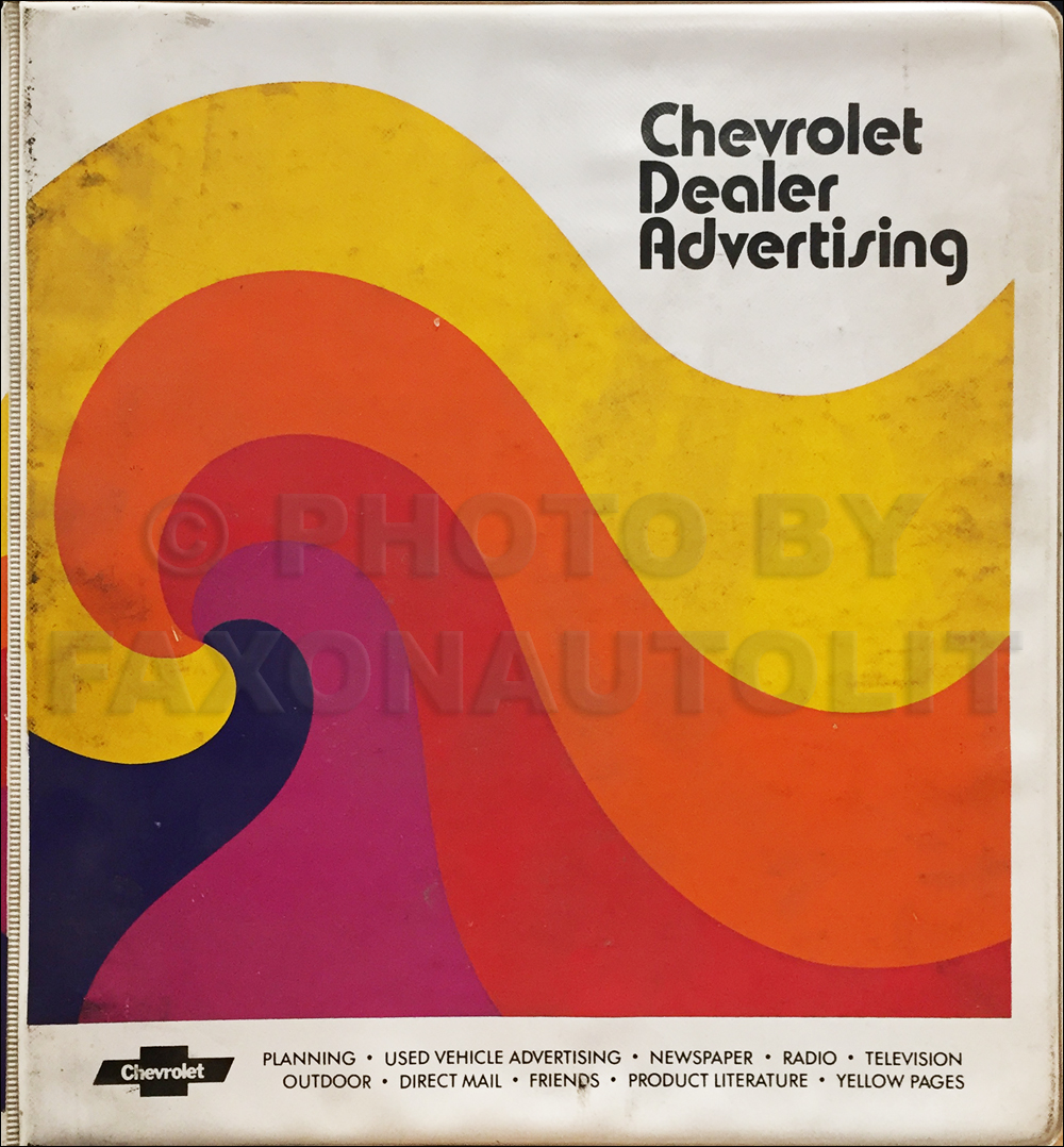 1981 Chevrolet Dealer Advertising Planner Original