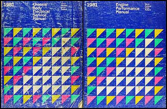 1981 FWD Repair Shop Manual Original 2 Vol. Set Omni Horizon Aries Reliant