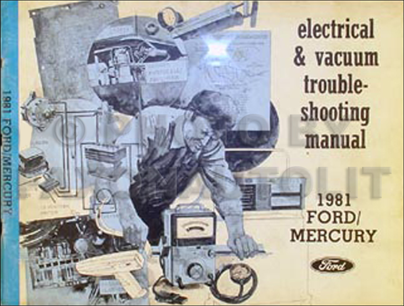 1981 LTD/Crown Victoria/Brougham/Grand Marquis Electrical & Vacuum Troubleshooting Manual