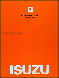 1981 Isuzu P'up Diesel Engine Repair Manual Original